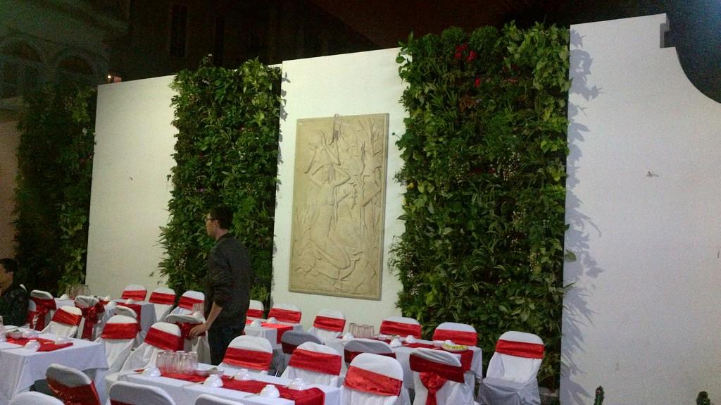 Dịch vụ cho thuê vườn đứng sự kiện