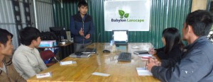 Hoạt động đào tạo chuyên môn tại Babylon Landscape