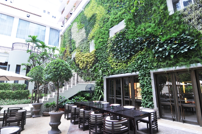 10 vườn trên tường đẹp nhất thế giới