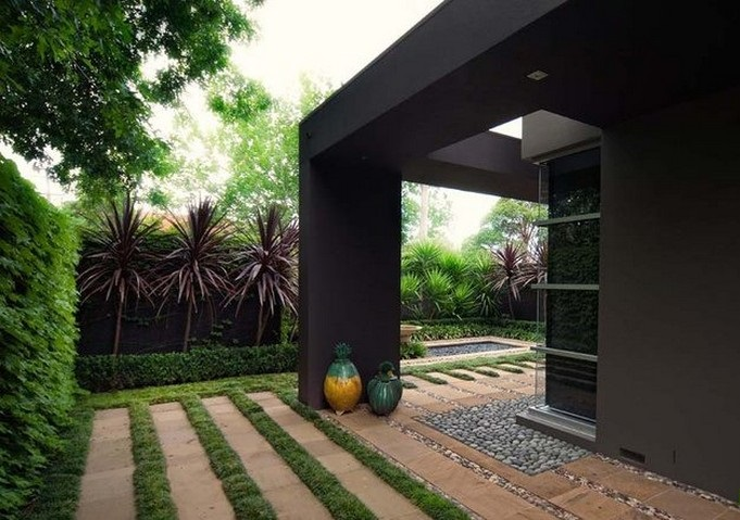 Thiết kế sân vườn hiện đại