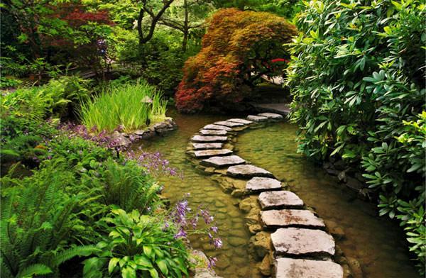 Lối dạo sân vườn Nhật