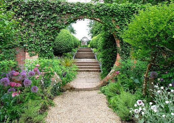 lối dạo sân vườn