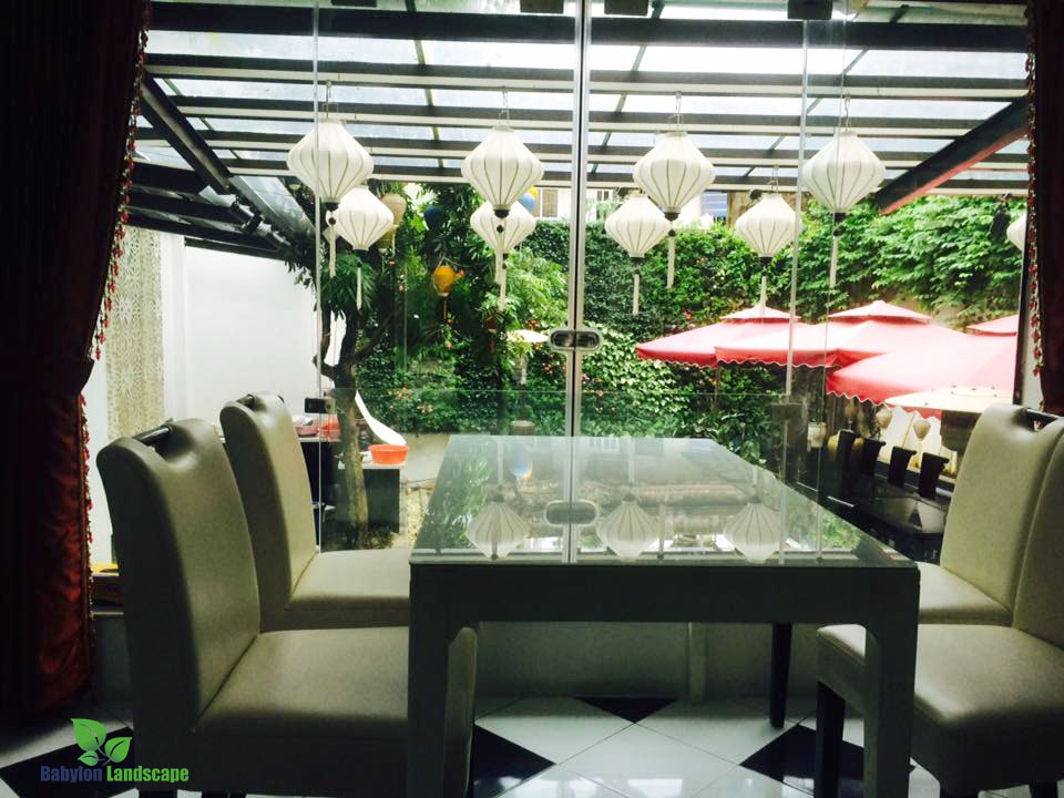 Chăm sóc bảo trì vườn thẳng đứng Nghi Tàm