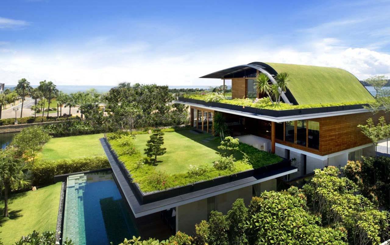quy trình thi công vườn trên mái