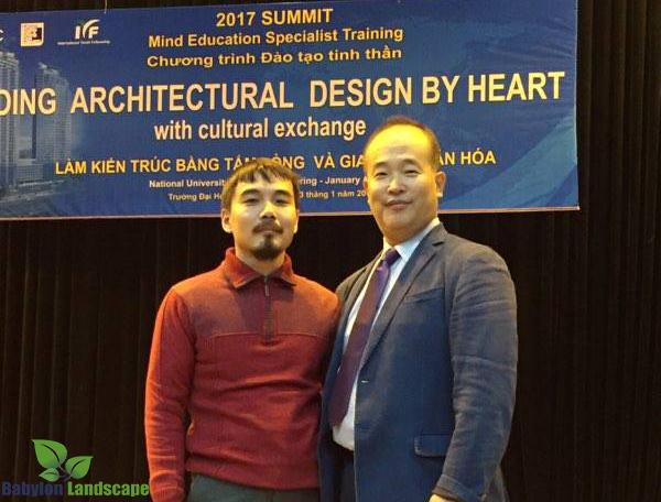 Tham gia chương trình đào tạo kiến trúc sư tại trường Đại Học Xây Dựng Hà Nội