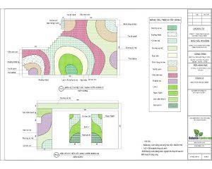 Phương án thiết kế vườn tường Khu đô thị Ciputra