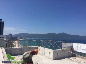 Thi công cảnh quan dự án Luxury Hotel Đà Nẵng