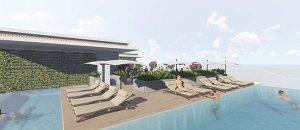 Phối cảnh thi công cảnh quan dự án Luxury Hotel Đà Nẵng