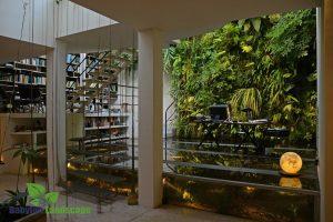 vườn tường nhà phố cải thiện không khí trong căn nhà bạn