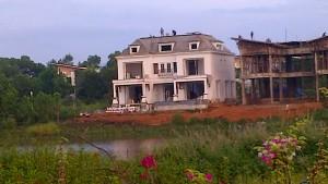 Thi công sân vườn biệt thự nghỉ dưỡng – Flamingo Đại Lải