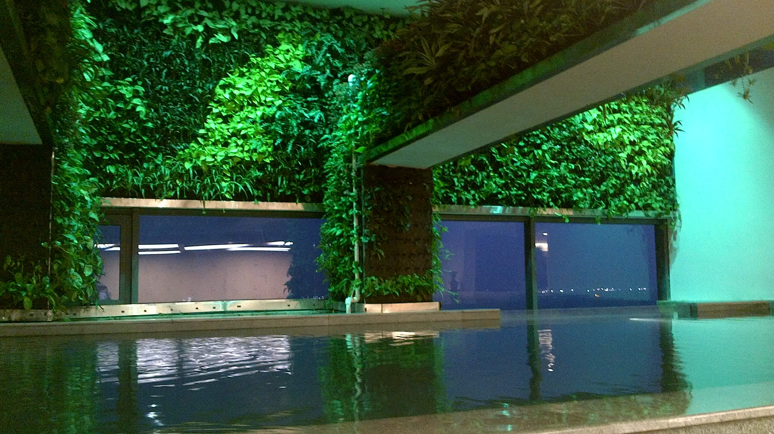 Không gian xanh trong căn hộ pendhouse cao cấp tại hà nội