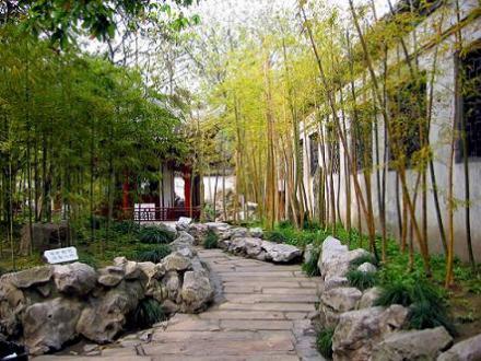 lối dạo sân vườn Trung Quốc