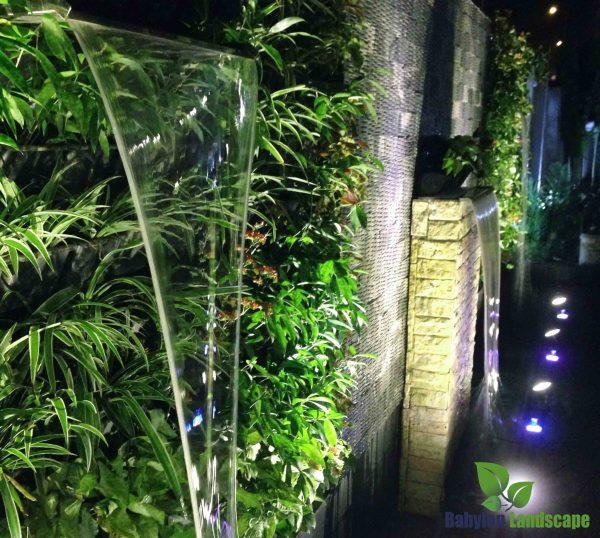 Thiết kế và thi công tường nước biệt thự Nam Định
