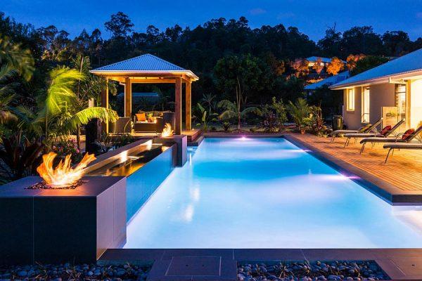 5 ý tưởng thiết kế cảnh quan hồ bơi đẹp