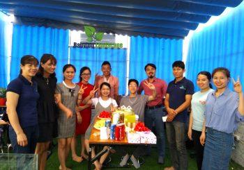 Babylon landscape tổ chức sinh nhật cho nhân viên