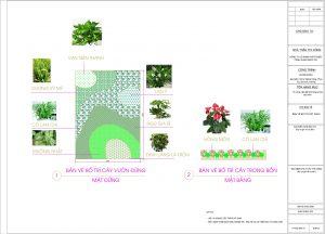 Thiết kế vườn treo tường tại bệnh viện Melatec