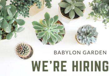Babylon Garden tuyển dụng nhân sự tháng 09/2019
